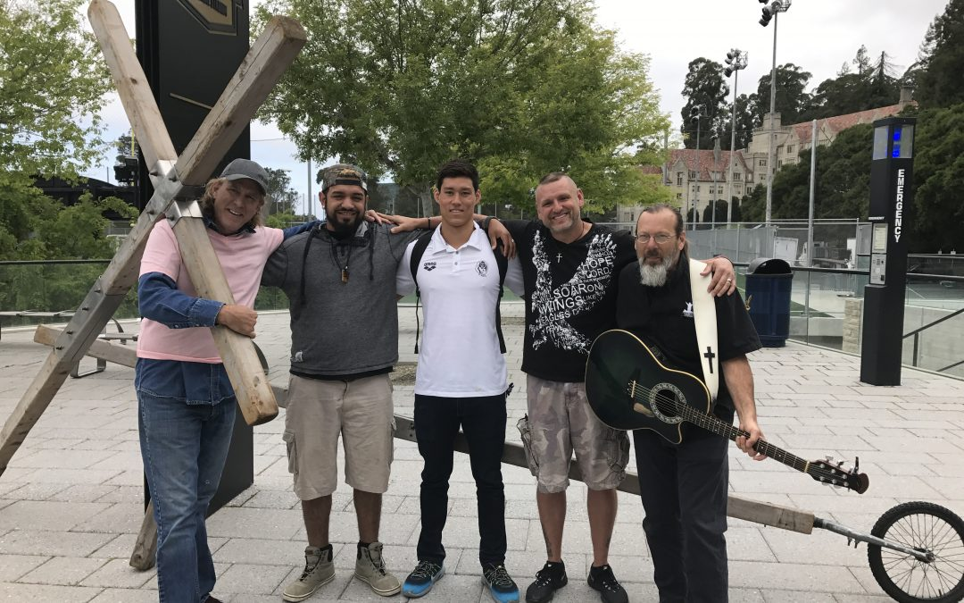Carrying the Cross in California and Nevada